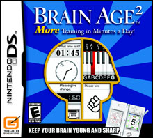 Brain Age 2 - Busy Gamer Rating 5